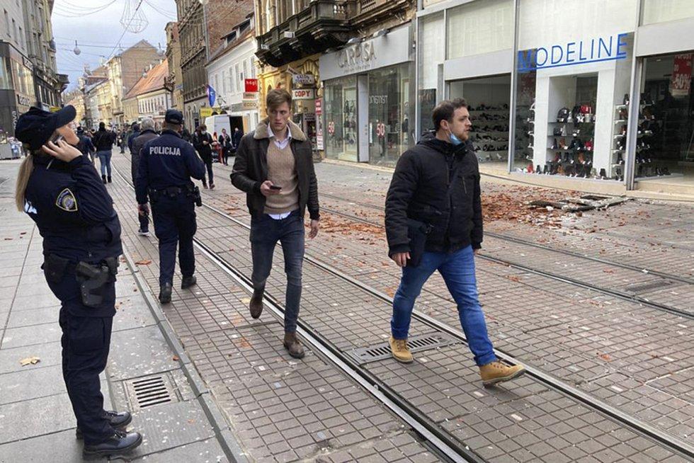 Zemětřesení v Chorvatsku