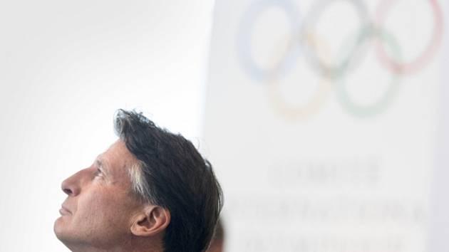 Šéf světové atletické federace Sebastian Coe.