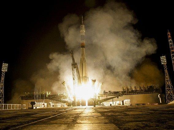 Start rakety Proton.