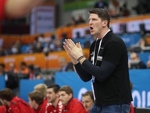 Trenér českých házenkářů Daniel Kubeš.
