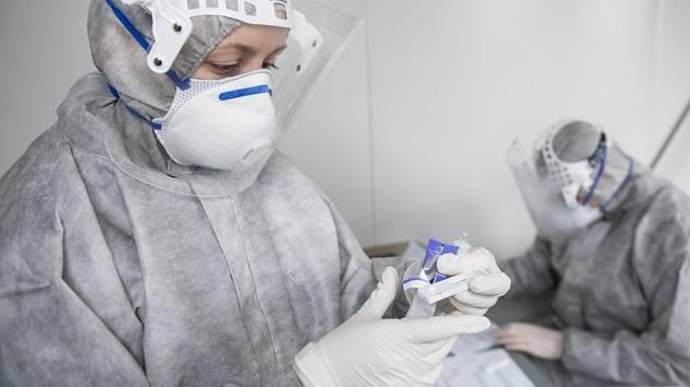 Odběry vzorků pro testování na koronavirus
