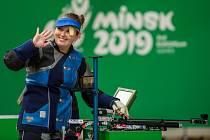 Nikola Mazurová vybojovala 24. června 2019 na Evropských hrách v Minsku bronzovou medaili ve střelbě ze vzduchové pušky