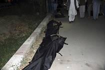Oběti sebevražedného útoku u letiště v afghánské metropoli Kábulu