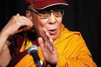 Duchovní vůdce tibetských buddhistů v exilu dalajláma.