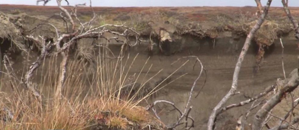 Na vině je tající věčně zmrzlá půda neboli permafrost