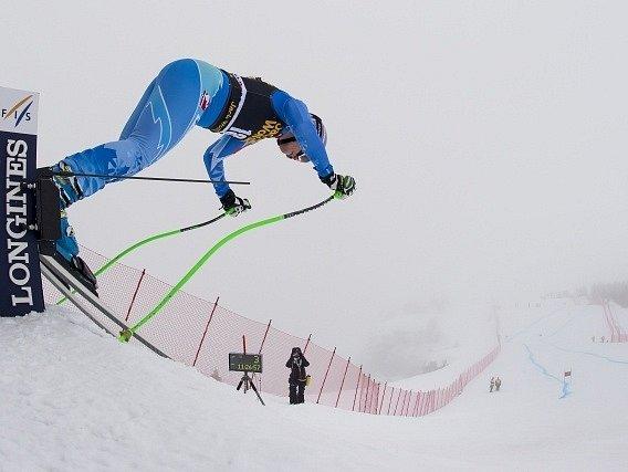 Špatné počasí nepustilo lyžařky na trať