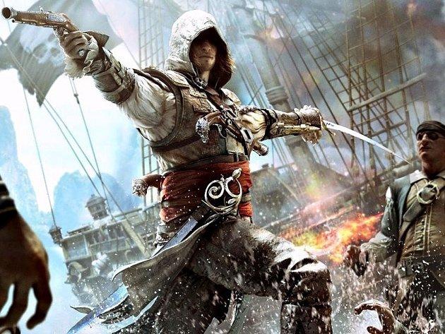 Počítačová hra Assassin's Creed IV: Black Flag.