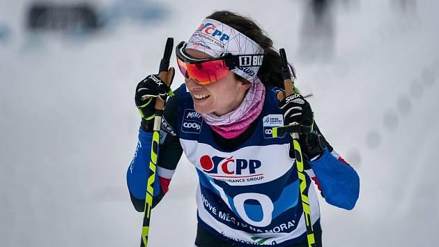 Kateřina Razýmová na Tour de Ski