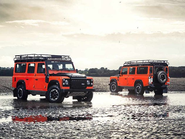 Land Rover Defender Adventure.
