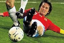 Jezdit po zadku je základ. Čeští fotbalisté vsadili proti Irsku znovu na bojovnost a jsou jen krůček od postupu na EURO 2008.