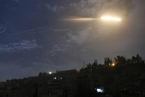 Izraelská raketa nad Damaškem