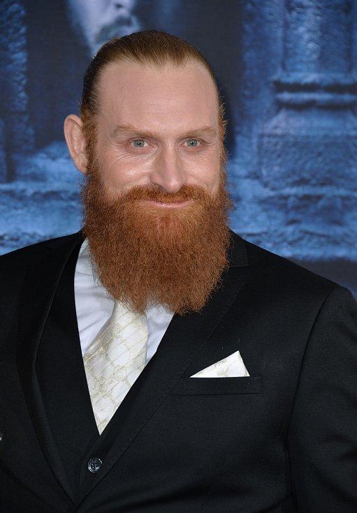 Kristofer Hivju známý z Hry o trůny.