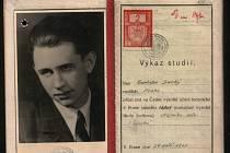Studentský index Františka Suchého