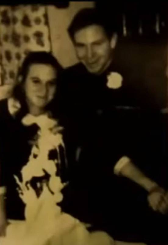 William Lester Suff se svou první ženou
