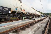transport české nafty z Německa
