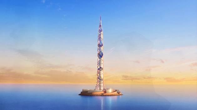 Petrohrad získá novou dominantu. Věž Lakhta Centre má měřit 703 metrů. Půjde o novou druhou nejvyšší budovu světa.