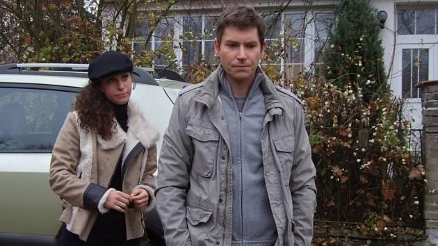PO IDYLCE. Máša Málková a David Švehlík ve snímku Aplaus.