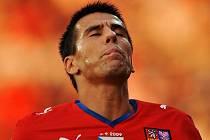 Čeští fotbalisté rozstříleli v kvalifikaci na MS San Marino 7:0. Čtyři branky vstřelil Milan Baroš. Naděje na postup stále trvá.