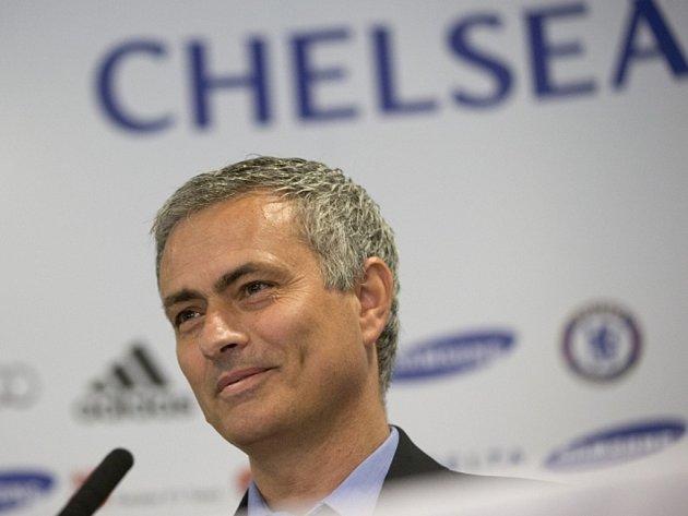 Trenér Chelsea José Mourinho.