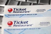 Stravenky Ticket Restaurant - ilustrační foto