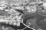 Elektrárna Dětmarovice - výstavba (začátek 70. let 20. století)