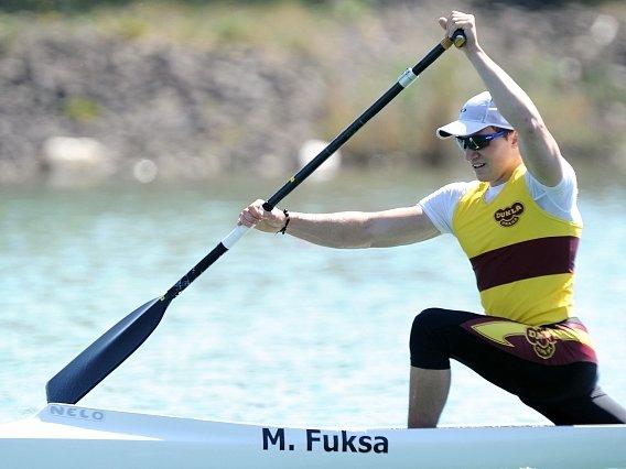 Kanoista Martin Fuksa.