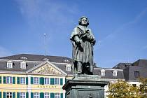 Socha Ludwiga van Beethovena. Ilustrační snímek