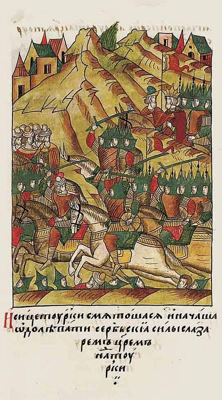 Boje Srbů s Turky ve 14. století se staly častým tématem středověké ikonografie. Větší pozornosti se však dostávalo bitvě u Kosova z roku 1389