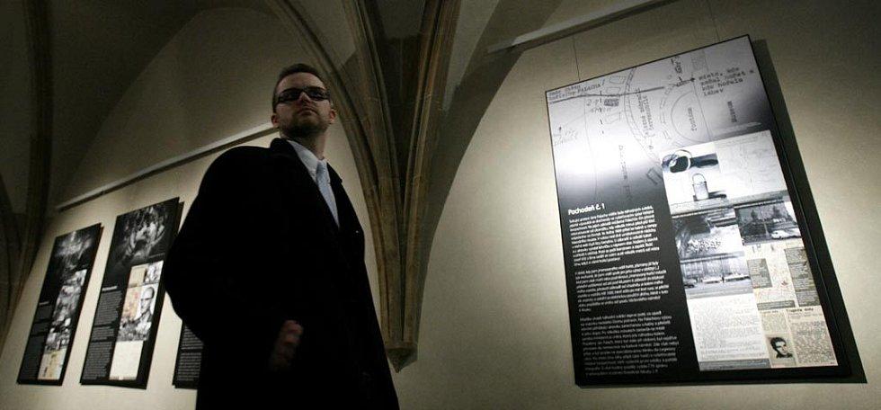 Výstava v Pražském Karolinu, která připomíná upálení a celý život studenta Jana Palacha.
