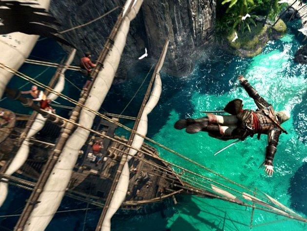 Počítačová hra Assassin's Creed 4: Black Flag.