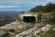 Zbytky vojenského opevěnní Krymu z 2. světové války
