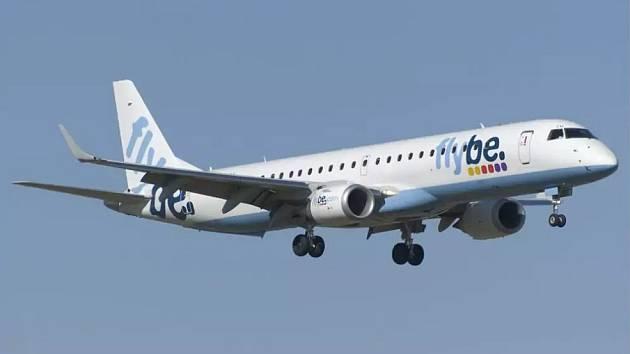 Letadlo společnosti Flybe