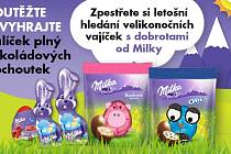 Vyhrajte balíček plný čokoládových pochoutek.