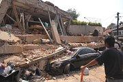 Ze školy v Mexiku zbyly po zemětřesení jen trosky.