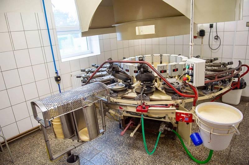 Výroba pravých hořických trubiček