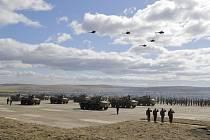 Manévry ruské armády. Ilustrační foto