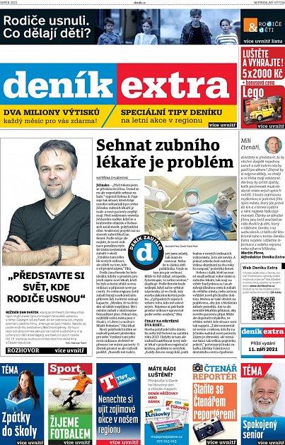 Deník Extra - srpen 2021