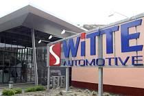 Logistické centrum společnosti Witte Automotive Nejdek.