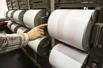 Seismologické zařízení pro měření zemětřesení