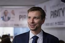 Pirátský europoslanec Marcel Kolaja (na archivním snímku)