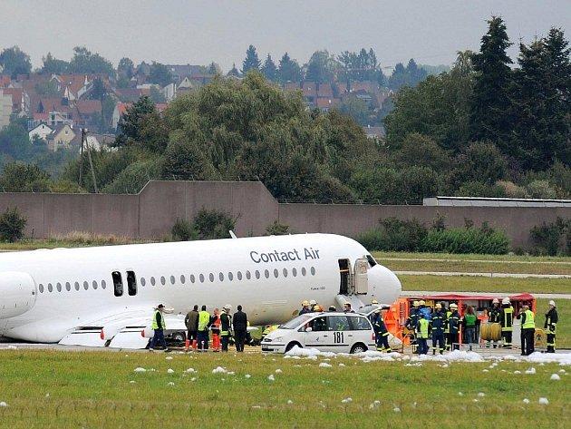 V Německu muselo nouzově přistát letadlo.