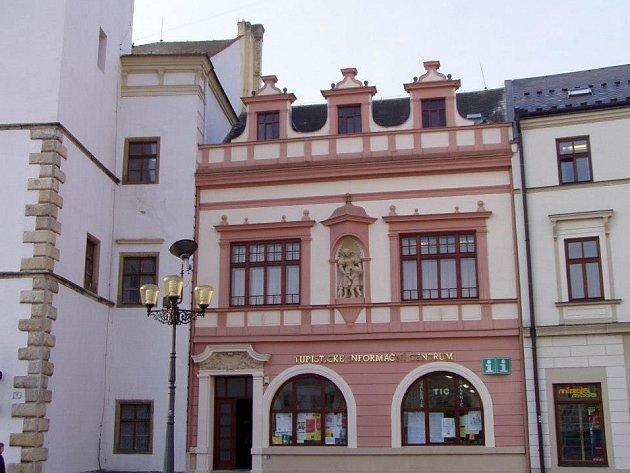 Turistické informační centrum ve Vyškově.