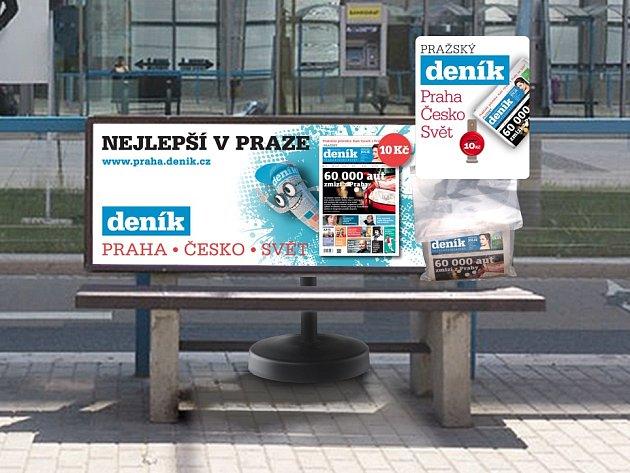 Nová distribuce Pražského Deníku.