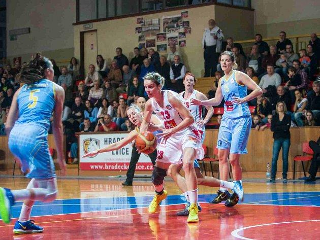 Basketbal Lvice Hradec Králové – USK Praha