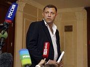 Druhý povstalecký předák Alexandr Zacharčenko.