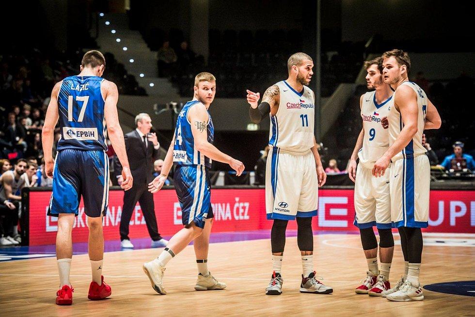 Čeští basketbalisté mají stále šanci vybojovat si účast na olympiádě v Tokiu