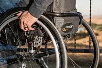 Handicap, invalidní vozík - Ilustrační foto