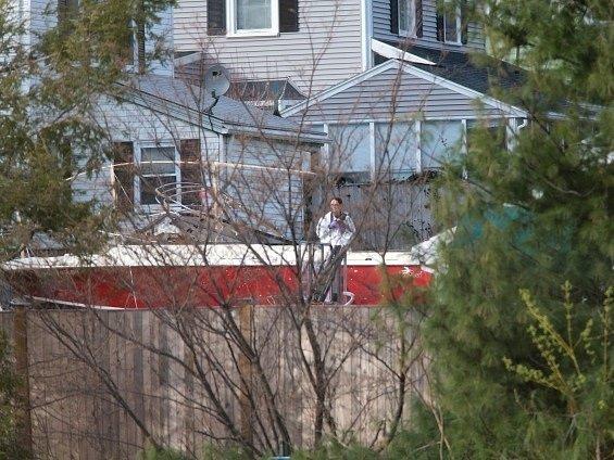 Loď, v níž se ukrýval Carnajev, se stala v Bostonu atrakcí