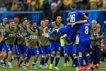 Fotbalisté Itálie v euforii. Zvládli šlágr s Anglií.