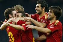 Fotbalisté Španělska zdolali Koreu 4:1.